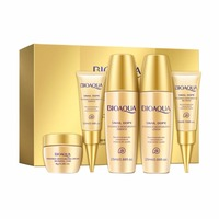 Snail Extract Bright White Surface Membrane Concentrate Moisturizing Hydrating Suit Masks & base liquid 5PC Sun Care