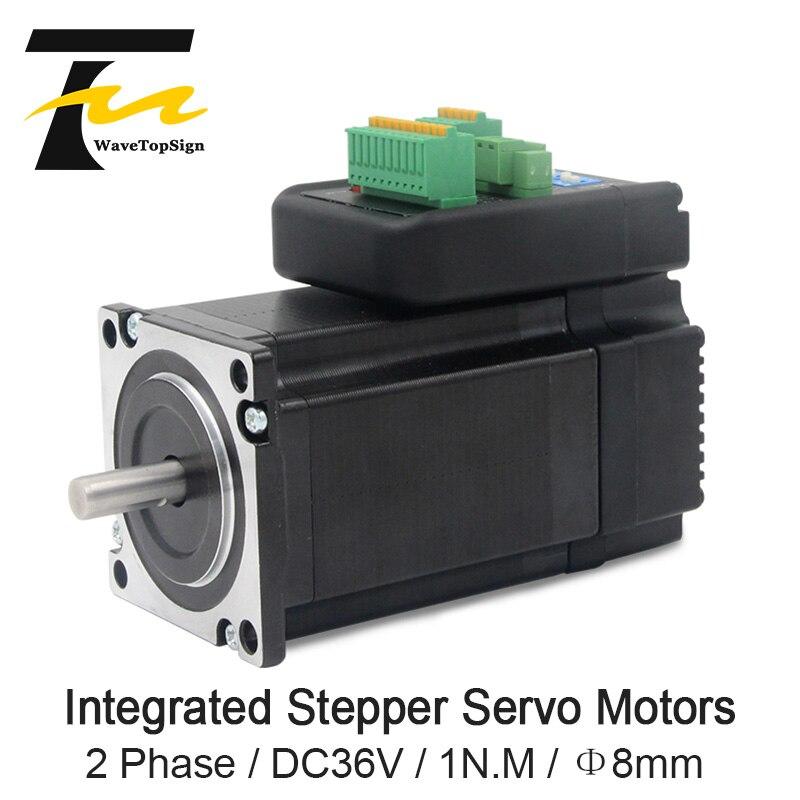 JMC NEMA23 1Nm 142oz.in Integrated Closed Loop Stepper motor with driver 36VDC iHSS57-36-10JMC NEMA23 1Nm 142oz.in Integrated Closed Loop Stepper motor with driver 36VDC iHSS57-36-10