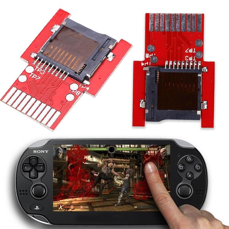 For PSVita Game Card to Micro SD/TF Card Adapter SD2Vita