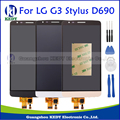 Black White Gold For LG G3 Stylus D690 Original LCD Display Touch Screen with Digitizer Assembly Repalcement Part+Tools