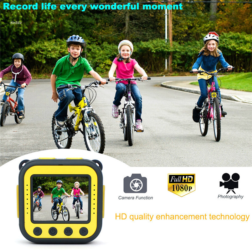 Children Kids Camera Waterproof Digital Video HD Action Camera 1080P Sports Camera go pro Camcorder DV XinSiLu