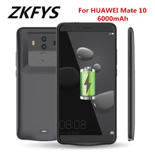 ZKFYS 6000mAh Battery Charger Case For HUAWEI Mate 10 Ultra Thin Fast Cover