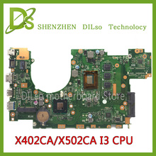 KEFU X502CA For ASUS X502CA X402CA laptop motherboard X502CA  motherboard  rev2.0 4G RAM i3 cpu  100% tested