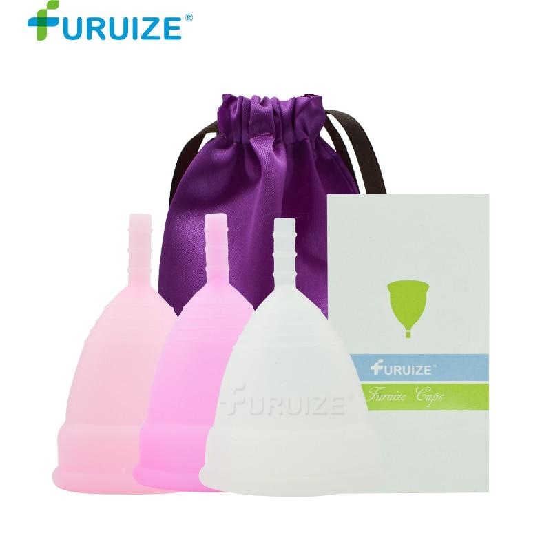 Feminine Hygiene Menstrual Cup 100% Medical Grade Silicone reusable