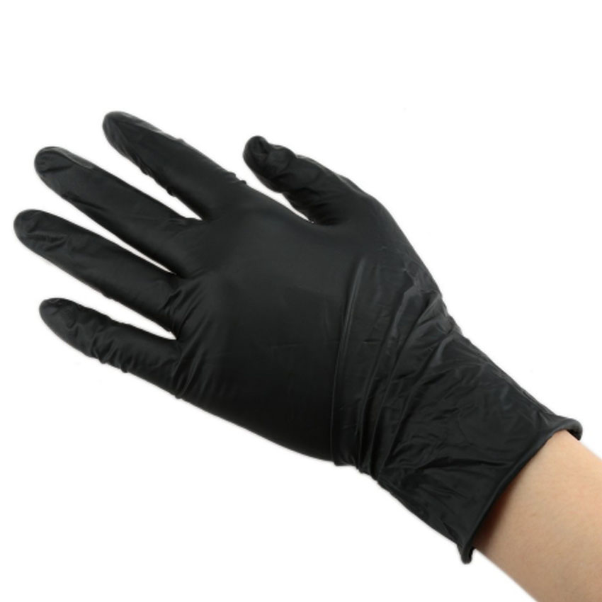 Tattoo Gloves Nitrile Rubber Waterproof Black Disposable Large Size Medical Permanent Makeup Tattoo Supply Tattoo Accessories