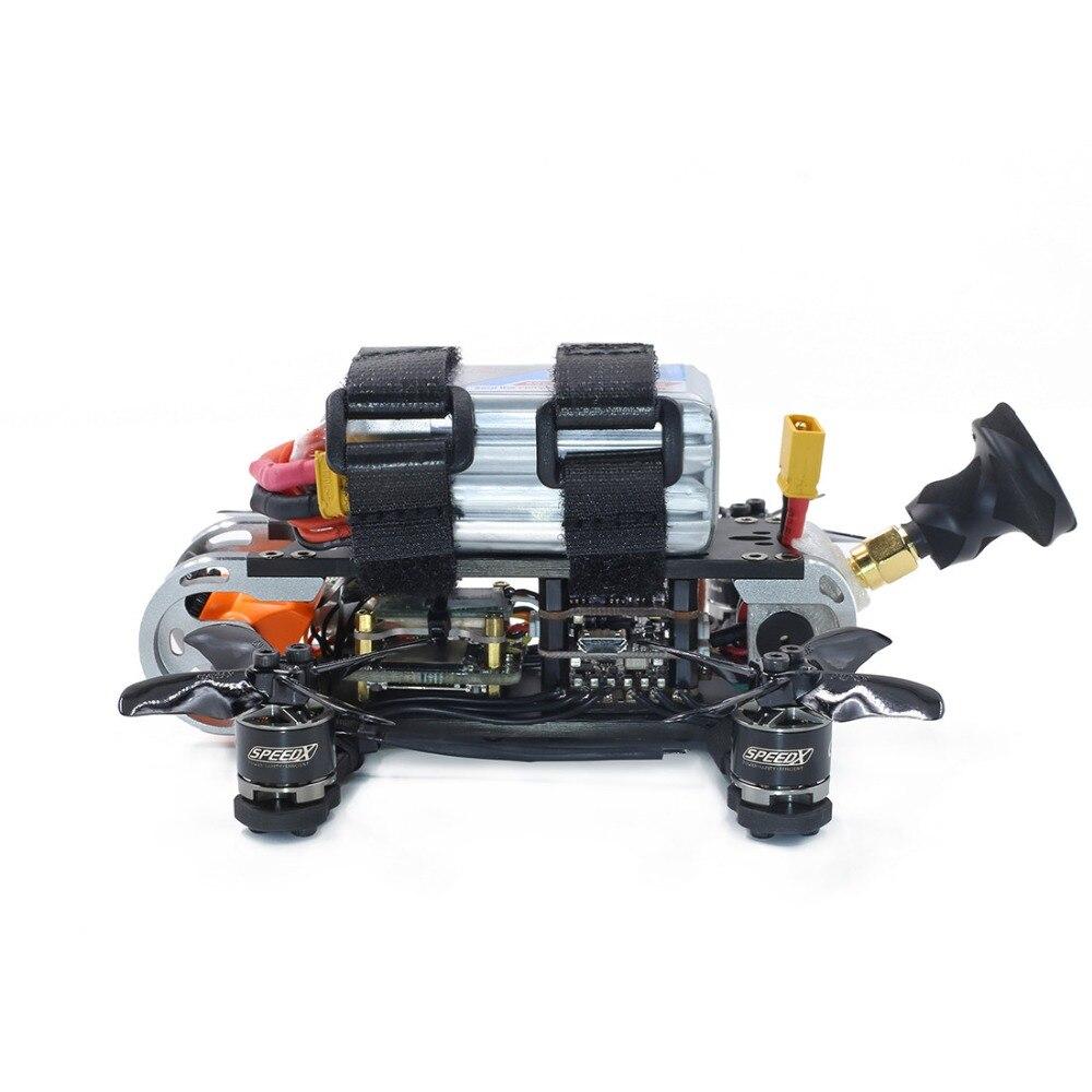 Gerpc GEP CX Cygnet 2 115mm 2 pouces RC course Drone Stable F4 20A 48CH RunCam fendu Mini 2 1080P HD FPV quadrirotor BNF/PNP Kit - 5