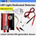 1-100 polegadas de Ajuste livre-TV LCD LED backlight tester Instrumento de revisão tira do DIODO EMISSOR de luz contas de Luz Rápida detecção