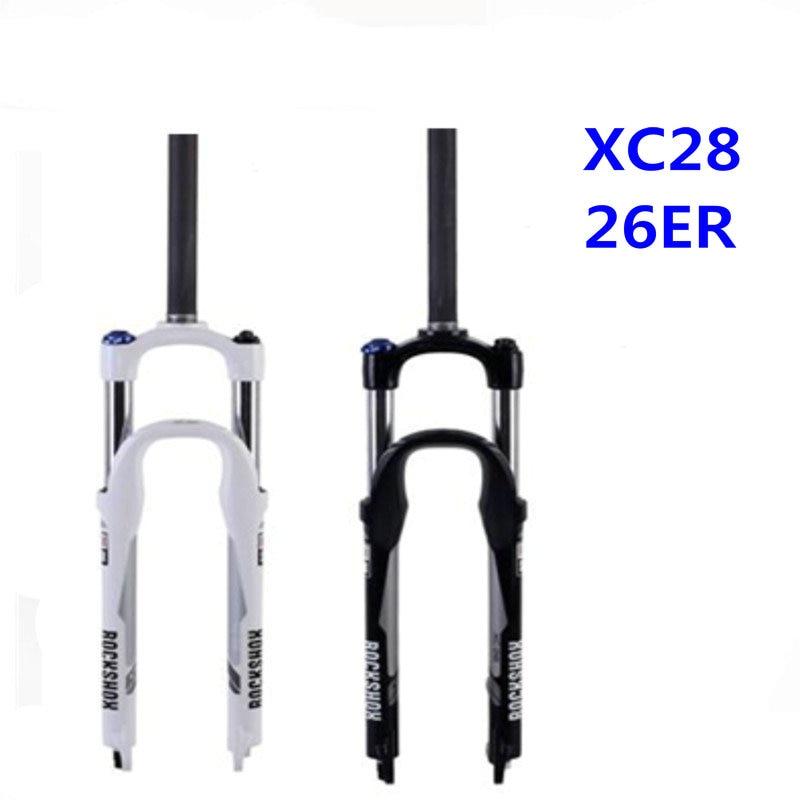 RockShox XC28 Fork 26 100mm Shock avoidance MTB bike fork 26er oil spring bicycle fork