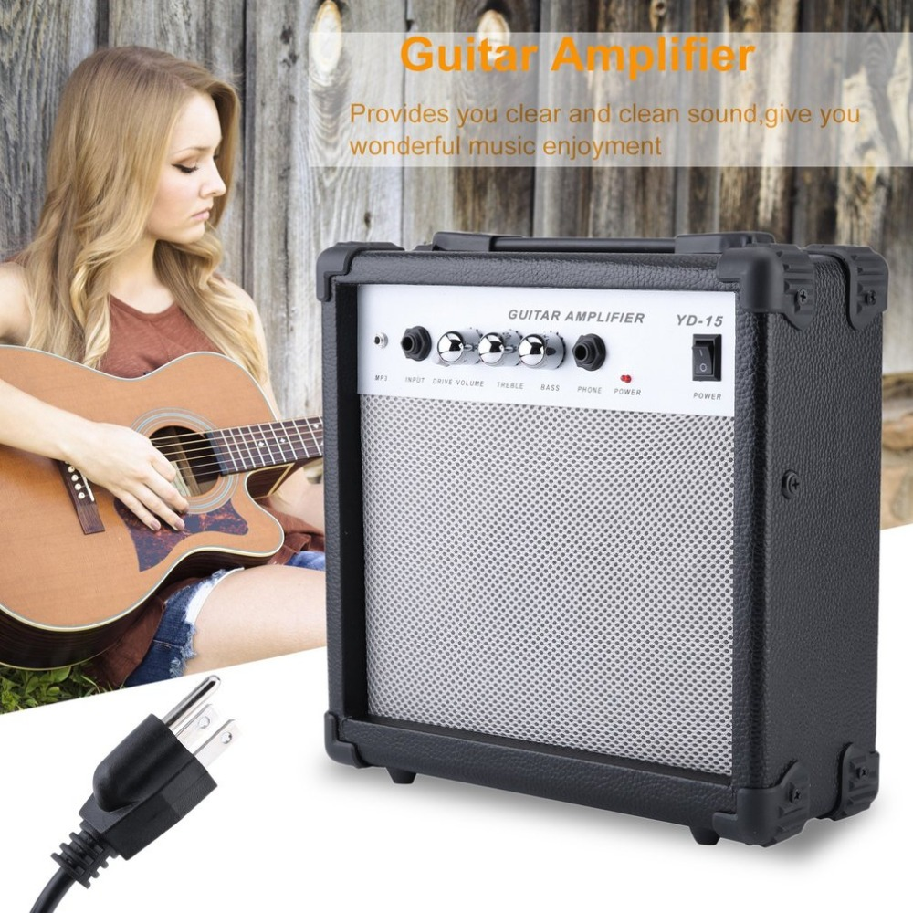 high sensitivity electric guitar speaker amp amplifier great effects built in tuner for guitar