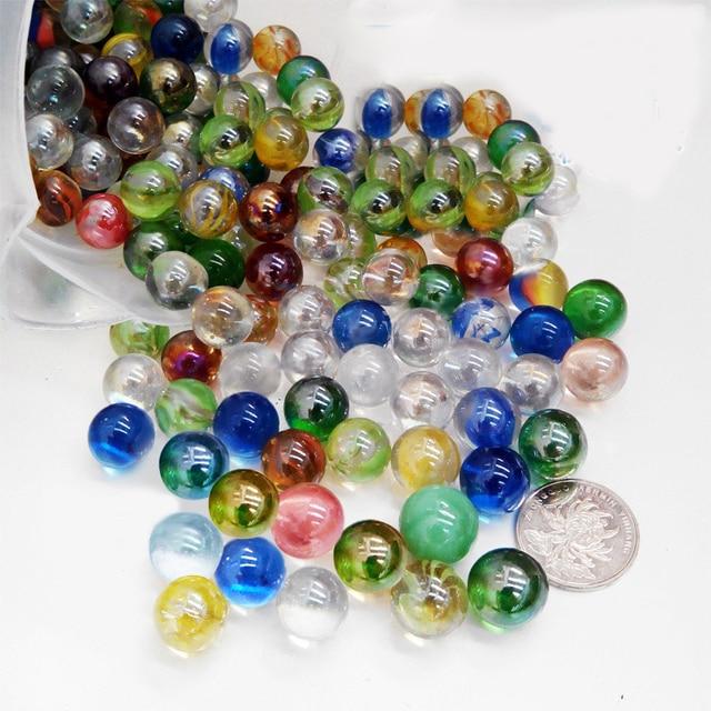 Decorative Marble Balls Inspiration 20Pcs Muti Color Marbles Glass Ball 14Mm Classic Home Fish Tank Design Ideas