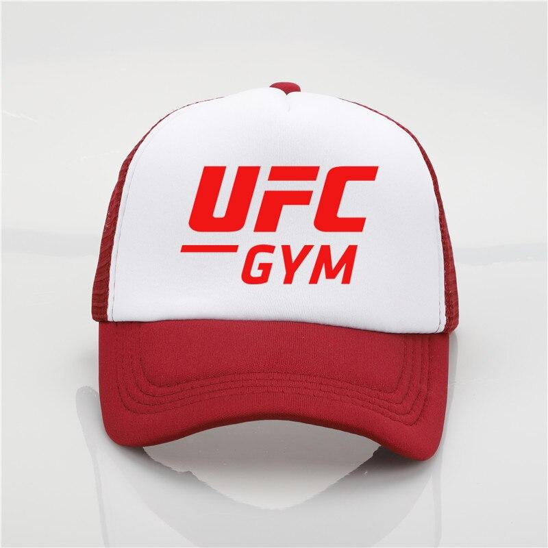 Chapéu da forma do UFC impressão Cap cap net boné de beisebol Dos Homens e  mulheres 4f6f5d7c9a7