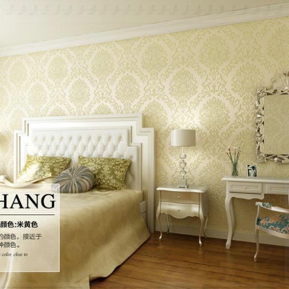 Luxury Living Room Backdrop Art Design Wallpaper Bedroom Roll Paper ...