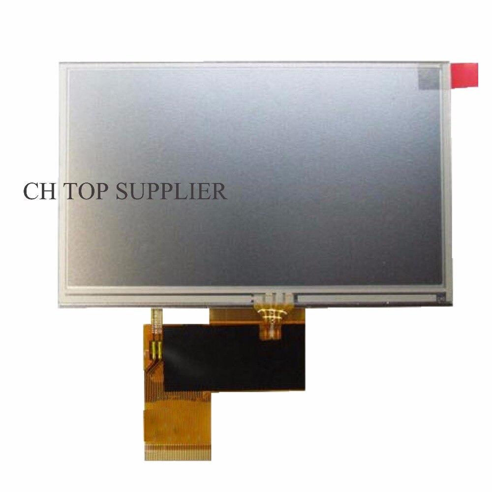 New 5 Inch 40 pin KD50G21-40NT-A1 HSD050IDW1-A20-A For Navi N50 HD Car Navigators LCD Display Screen Module Panel Repartment navigators planet earth