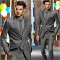 Wedding Groom  Mens Suits One Button C Men Suit Three Pieces(Jacket + Pants +Tie)