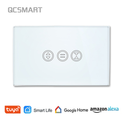 Tuya Smart Life WiFi Curtain Switch for Electric motorized Curtain Blind Roller Shutter Google Home Alexa Echo Voice Control