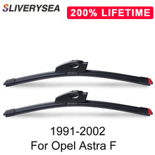 цена на SLIVERYSEA Replace Wiper Refill Windscreen Wiper Blades for Opel Astra F 1991-2002 Windshield Rubber Replacement Wiper