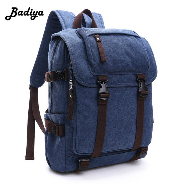 Preppy Style Unisex Canvas Backpack Computer Shoulder Bag For Student  Contrast Colors Travel Backpacks 912aea9fd73d8