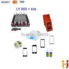 LY 950 отдельный машина, для сенсорный ЖК-экран мобильного телефона, ремонт экрана машина, режущий провод как подарок, с другими аксессуарами