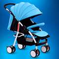 Portable baby stroller can sit and lie baby car comfort portable baby stroller