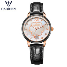 2017CADISEN Ladies Fashion Quartz Casual Bracelet Dresses Watches Clocks Reloje mujer