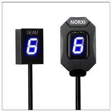 Motorcycle Gear Indicator For Kawasaki ER6N V650 Ninja 300 Z1000SX Moto Display Ecu Direct Mount 6 Level Speedmeter