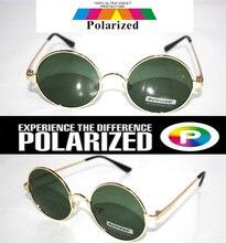 2016 Round Retro classical Driver's TAC enhanced polarized polaroid polarised golf fishing UV 400 Men women sunglasses