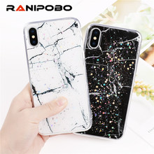 Luxury Platinum Marble Star Pattern Phone Case For iPhone 6 6S 7 8 Plus  Epoxy Soft · 4 Colors Available 46029d9c17f9