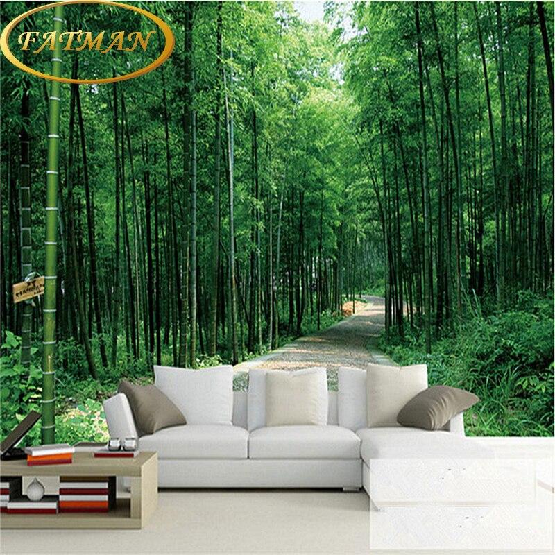 bos behang slaapkamer promotie-winkel voor promoties bos behang, Deco ideeën