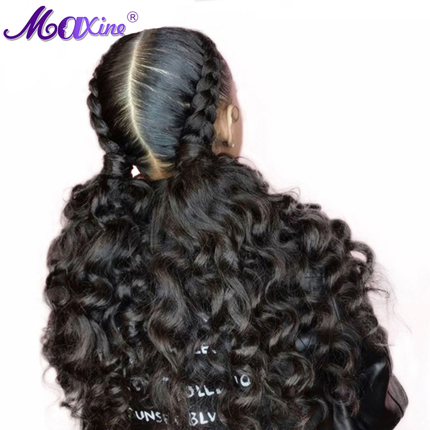 Brazilian Wigs Loose Lace Front Human Hair Wigs Pre Plucked Bleached Knots Wigs For Black Women