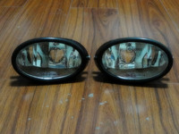 2Pcs/Pair Clear bumper driving fog lights lamps without bulbs for Honda Civic 2001 2003