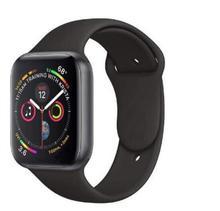 Women men Bluetooth Smart Watch Series 4 SmartWatch for Apple iOS iPhone Xiaomi Android Smart Phone Hua wei facebook(Red Button)