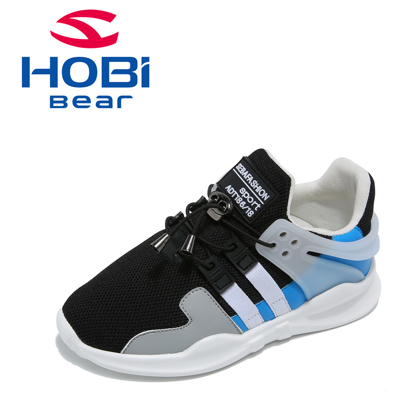 Kids Sports Shoes Tennis for Boys Girls Children Training Running Sneakers Children Boy Casual Shoes Footwear Hobibear GS3505 2016 new shoes for children breathable children boy shoes casual running kids sneakers mesh boys sport shoes kids sneakers
