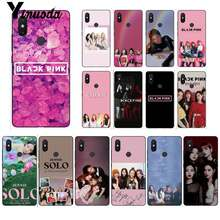 Yinuoda 不足ピンク k-ポップ BLACKPINK kpop ブラック TPU ソフト電話 Xiaomi Mi6 Mix2 Mix2S Note3 8 8 lite Redmi 5 note5 Note4 4X(China)