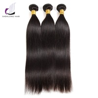 ShenLong Hair Brazilian Straight Hair Weave Bundles Brazilian Remy Human Hair Bundles Can Buy With Closure Double Weft Hair
