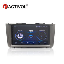 "HACTIVOL 9"" 1024*600 Quadcore android 8.1 car radio for Toyota camry 2006 2007 2008 2009 2010 2011 car DVD player gps navi wifi(China)"