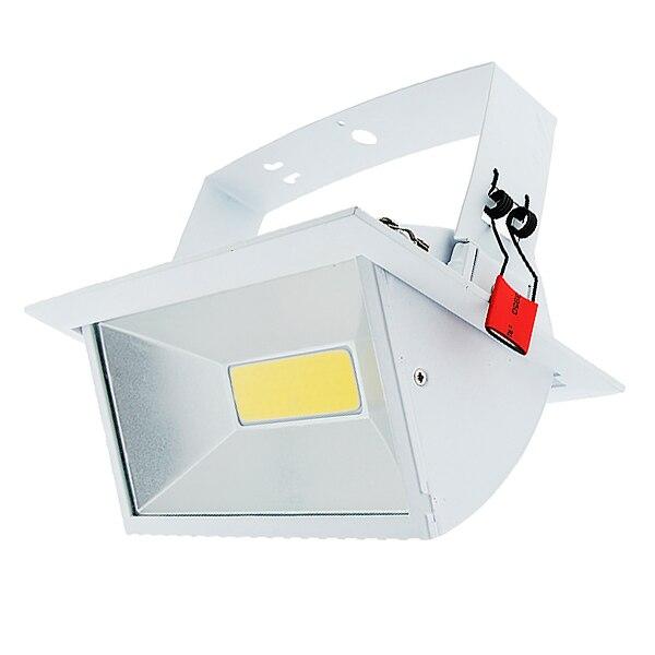 zx unids rectangular led proyector de interior de interior focos w w led