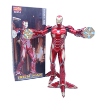 12inch 30cm Crazy Toys Iron Man MK50 1/6 Battering Ram Iron Man Mark 50 Foot Clamps Ver Action Figure Model Toy Doll Gift