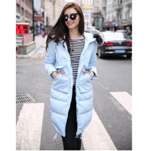 Winter jacket Women 2017 New Slim Coat Female Clothing Fashion Outerwear Thickening Down Cotton Wadded Jackets Hooded Parka  587