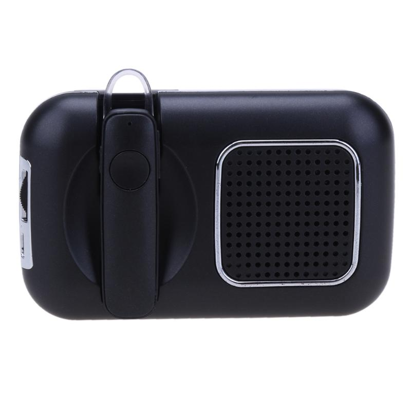 VODOOL Car Interior Sunvisor Mount Wireless Bluetooth Hand-Free Earphone Speaker for Universal Car High Quality