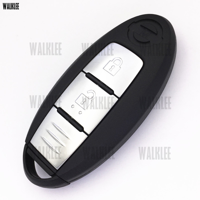Image 3 - WALKLEE Smart Remote Key suit for Nissan Micra K13 / Juke F15 / Note E12 / Leaf / 433.92MHz / ID46 Chip TWB1G662-in Car Key from Automobiles & Motorcycles