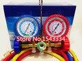 Free shipping CT-536 refrigerant manifold gauge set for R12,R22,R404a,R134a good quality