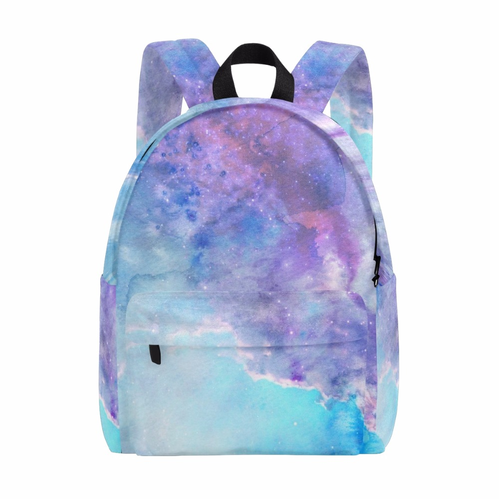 Unicreate Children Space Star Backpack Galaxy Backpack For Teenage Girls Boys Canvas Bags for Travel Women Bag Starry Sky 14Inch canvas backpack women for teenage boys school backpack male