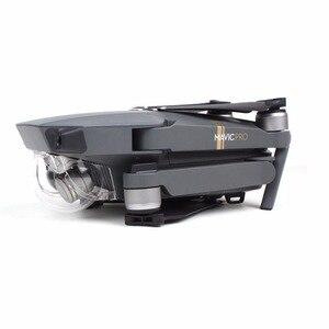 Image 2 - Objektiv Kappe Abdeckung Gimbal Halter Halterung Schutz für DJI Mavic Pro Platin Drone Protector Kamera Halterung Ersatzteile Zubehör