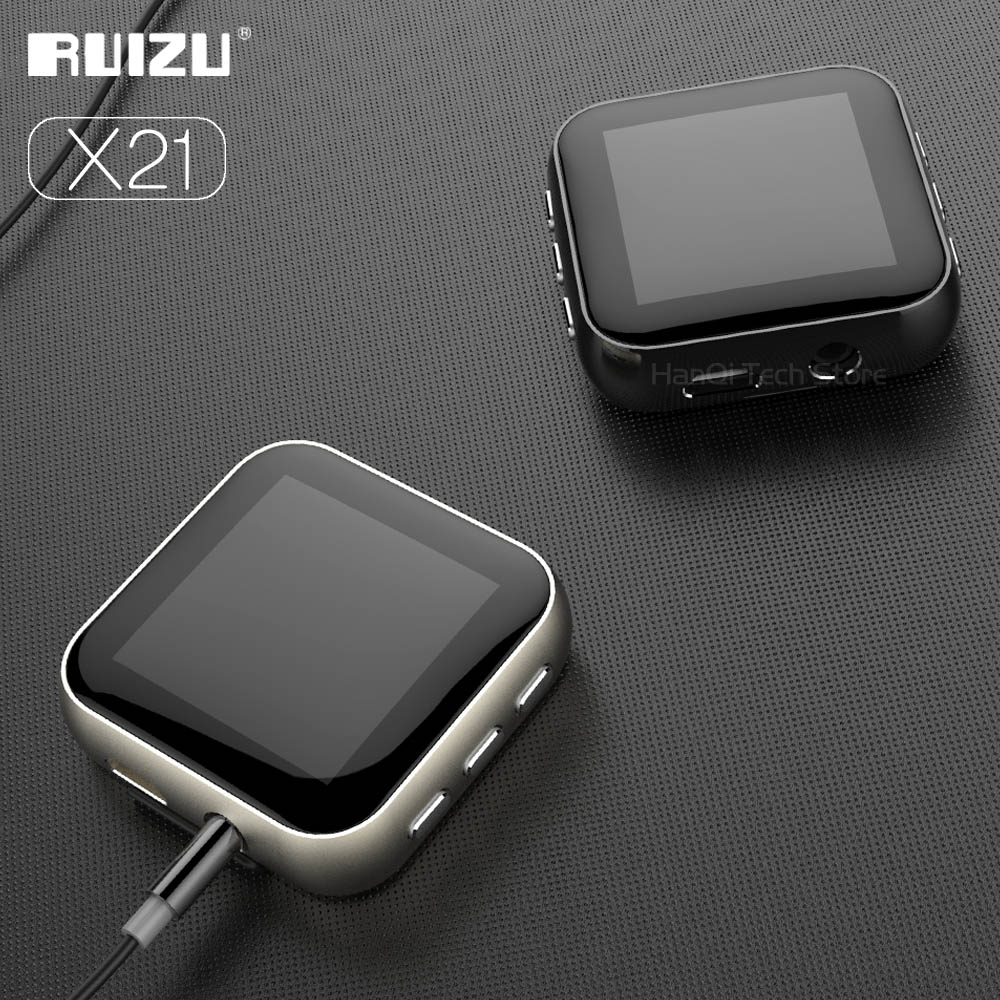 RUIZU X21 Metal Clip HiFi Music Player High Resolution Audio Digital Lossless Sound MP3 Player With Voice Recorder And FM Radio