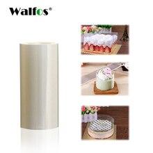 WALFOS 10 см 8 см прозрачный ПЭТ пластик для края торта упаковка торта инструменты для выпечки торт для DIY дома и кухни аксессуары