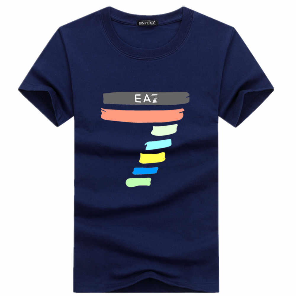2019 New Men T shirt Summer Promotions fashion Hip-Hop Shirt Round collar short sleeve T-shirt fashion wholesale short sleeves