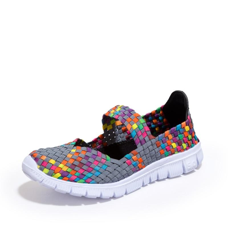Hot Sale Women Shoes Spring Summer Breathable Fashion Women Casual Flat Shoes Woman Tenis Feminino Plus