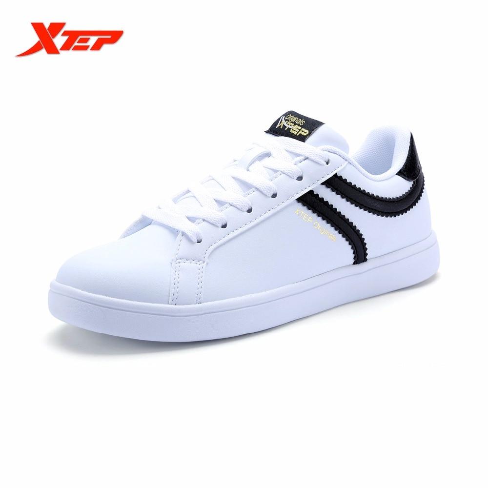 XTEP Brand Cheap Women's Skateboarding Shoes Classic ...