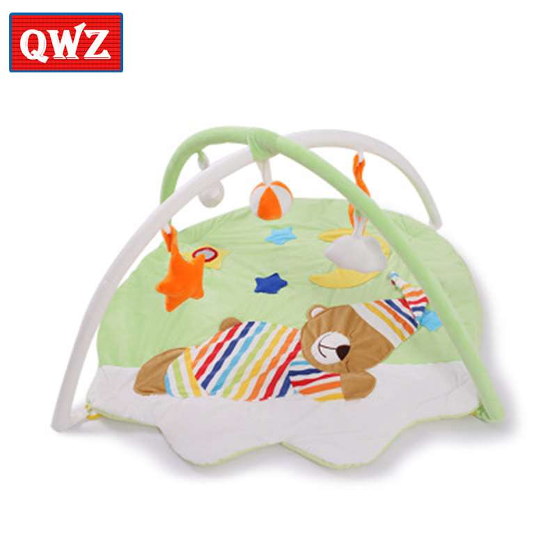 Baby Toy Crawling Mat Multi-function Baby Activity Gym Newborn Game Carpet Early Learning Baby Sleeping Bell Crawling Mat