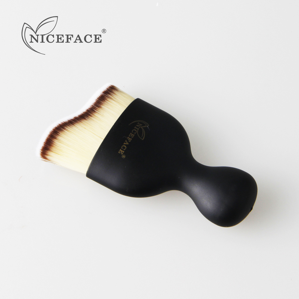NICEFACE Soft Fibers Ultra-soft Make Up Brush Wavy Beauty Essentials Foundation Powder Cosmetic Brushes for Make-up Tools